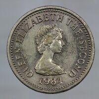 DN - Jersey - 1 Pound 1984 - A288-237