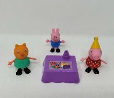 Peppa pig birthday party action figures *FREE FAST SHIPPING*