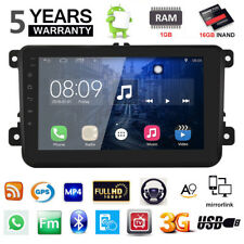 "Android 6.0 8"" Car Auto Radio Player 3G WIFI GPS Stereo For VW Golf Passat  IT"
