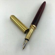 Manual Polishing Wood Pen Solid Brass Fountain Pen Portable Gel Pens