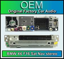 BMW X6 Sat Nav CD player, BMW F16 navigation, DAB radio, CI 9350343 02