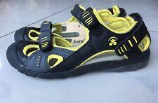 Kamik Sandalen Schuhe Wanderschuhe schwarz-gelb Gr. 32 Neu!