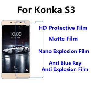 3pcs For Konka R3 High Clear/Nano Explosion/Anti Blue Ray Screen Protector