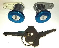 RENAULT CLIO I SUPER 5 21 LOCKSET SET LEFT RIGHT DOOR LOCK BARREL WITH KEYS ;;;