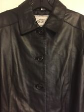 Modern Essentials Leather Coat - Women's Size Small - New With Tags