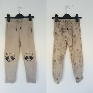 Boys Two Pairs Of Jogging Bottoms 3-4 Years