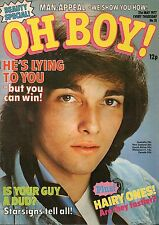 Oh Boy! Magazine 21 May 1977 Issue 31  Noel Edmonds Eric of The Bay City Rollers