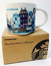 Starbucks AMSTERDAM You Are Here Series 14oz Mug 2017 New Free Ship!