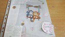 Cross stitch chart Margaret SHERRY Tableau Chats sur une balançoire Carte Seulement