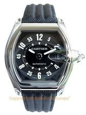 CARTIER Roadster Steel Large Automatic W62002V3 Box/Papers/Warranty Retail $6050