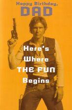 Dad Birthday Card - Star Wars Han Solo