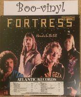 FORTRESS HANDS IN THE TILL LP 1981 UK PROMO COPY EX/EX