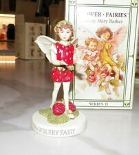 FLOWER FAIRIES CICELY MARY BARKER STRAWBERRY FAIRY SERIES II WITH BOX