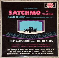 33t Louis Armstrong - Satchmo at Pasadena (LP)
