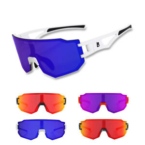Cycling Sunglasses Photochromic Lens Bike Goggles Riding Windproof Sport Eyewear
