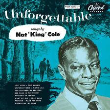 Nat King Cole Unforgettable LP Vinyl Capitol Records 2017