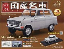 F/S Mitsubishi Minica 1967 1:24 Miniature Diecast Scale Model Car Japan Vol.32