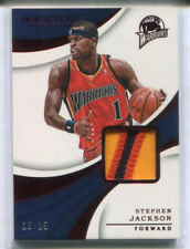 2017-18 PANINI IMMACULATE STEPHEN JACKSON RED PATCH 16/25 3COL