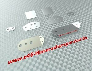 Reparaturblech-Kit Hinterachse für BMW 3er e46 alle auch M3 Risse Reparatur