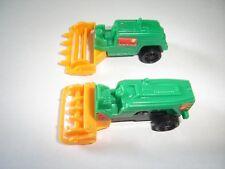 Harvesters Vehicles Model Cars Set 1:160 N - Kinder Surprise Plastic Miniatures