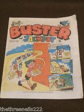 BUSTER AND JACKPOT COMIC - MAY 22 1982