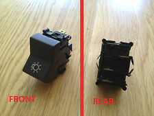 AUTOBIANCHI A112 FIAT 3 POSITION BROWN EXTERIOR LIGHT SWITCH 4396568
