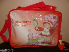 NEW STRAWBERRY SHORTCAKE MESSENGER BAG LUNCHBOX