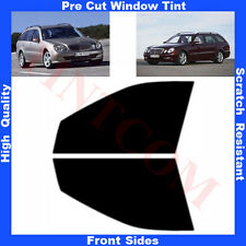 Pre Cut Window Tint Mercedes E Class S211 Estate 5D  03-09 Front Sides Any Shade