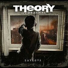 Savages [ PA MINT CONDITION CD +RARE 12 PAGE LYRICS SHEET ] Theory of a Deadman