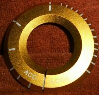 Alu Zündschlossring passend für MB  A B C E S ML GL GLE GLK GLC W204  in gold