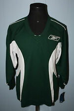 Deadstock Reebok Green White Blank Hockey Jersey S