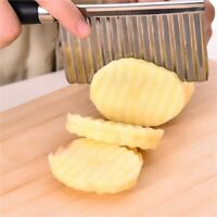 Knife Kitchen Vegetable Wavy Cutter Potato Cucumber Carrot Slicer Cutting Tool