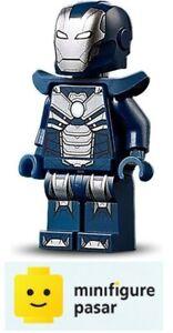sh655 Lego Marvel Avengers 76166 - Iron Man Tazer Armor Minifigure - New