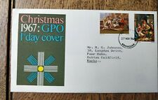 1967 Christmas GPO First Day Cover