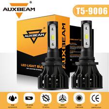 AUXBEAM 9006 HB4 LED Headlight Bulb Low Beam or Fog Light 6500K White 60W 6000LM