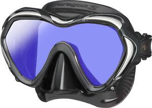 Tusa Paragon S Mask Scuba Diving, FreeDiving, Snorkeling Black