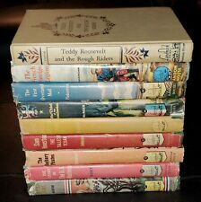 Lot of 9 Landmark Series American History books- Hardcover with Dust Jackets GUC