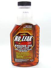 No Leak Engine Oil Stops Fluid Leaks Restores Seals 473ml