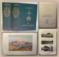 Gerbing Das Erdbild der Gegenwart 2 Bde 1926 Landeskunde Europa Geografie xy