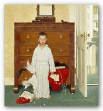 The Discovery Norman Rockwell Retro Art Print 9x10