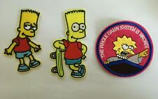 NEW! Iron on Patches Simpsons Characters 3 to choose from