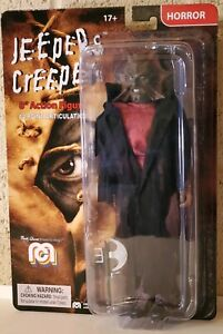 "Mego HORROR Jeepers Creepers The Creeper with AXE 8"" Action Figure NEW"