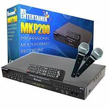 Karaoke Anlage MKP200 Professioneller Audio Musik Spieler Mikrofon Zuebhör
