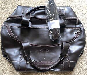 Genuine TESLA Limited Edition Leather Duffel Bag - Elon Musk Tequila Cybertruck