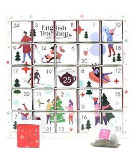 English Tea Shop Premium Holiday Collection Puzzle White Advent Calendar