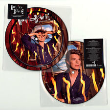 """David Bowie Zeroes 2018 7"""" Picture Disc 40th Anniversary Beat of Your Drum"""