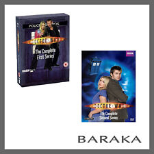DOCTOR Dr WHO Complete the First & Second Series Season 1 & 2 R4 DVD Set New