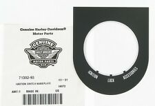 Pegatina Llave Contacto Harley-Davidson® Softail 71302-93B Ignition Switch Decal