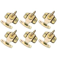 6 Pack Metal Plated Table Locks Dining Training Table Buckles Connectors Hardwar