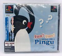 PlayStation 1 PS1 fun! fun! Pingu Japan